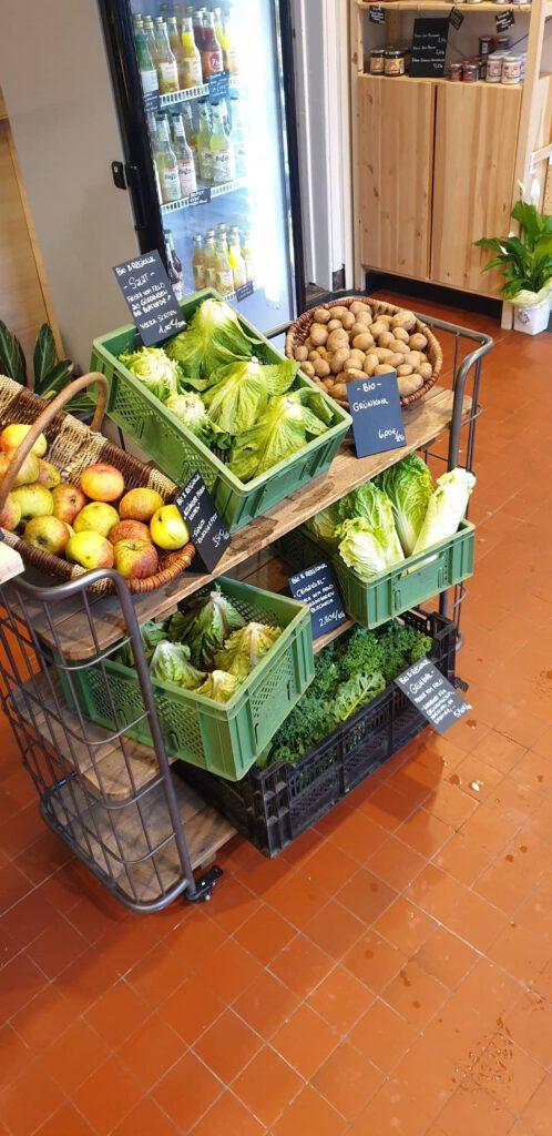 Regionales Gemüse im Neuerspeicher
